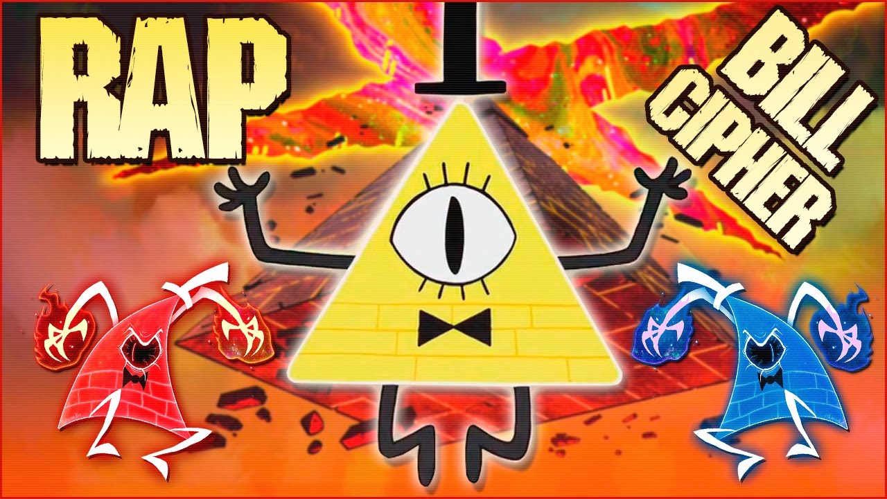 Free Fall Color Wallpaper Bill Cipher Rap Yo Soy La Locura Gravity Falls