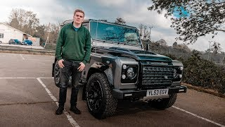 This 20 Year Old Built A 430bhp 6.2L Landrover Defender *INCREDIBLE*