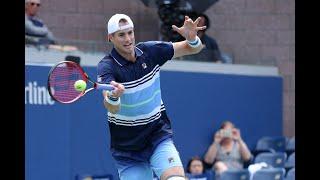 John Isner vs. Guillermo García-López | US Open 2019 R1 Highlights