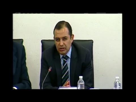 Reunión de trabajo de la Tercera Comisión con Gerardo Ruiz Esparza
