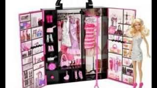 Barbie Fashionista Ultimate Closet Mattel Doll Girl Toy Clothes Furniture Hanger