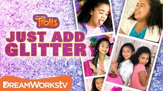 DIY Trolls Party Treats | JUST ADD GLITTER | TROLLS