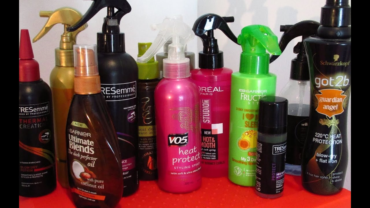 Best Heat heat protection sprays review - youtube