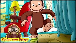 Curioso come George 🐵La Scimmia da Corsa 🐵Cartoni Animati per Bambini 🐵George la Scimmia