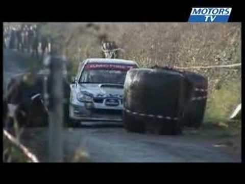 Win for Marcus Gronholm in Rally Galway 2007