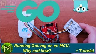 #227 Running GoLang on an STM32 MCU. Why and how. // Tutorial