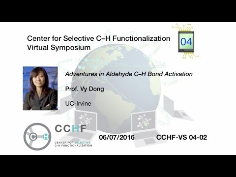The Dong Research Group - About Professor Vy M  Dong