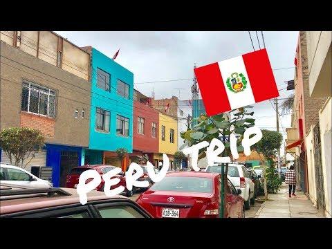 PERU TRAVEL VLOG 2018 // #1