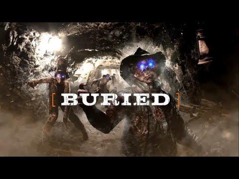 Cod Black Ops 2 Zombies Co-op  Buried Ep.1 Часть 1