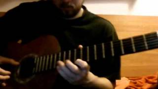 (guitar cover of) Portishead - Undenied