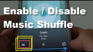 Samsung Galaxy S5: How to Enable / Disable Music Shuffle to Play Randomly