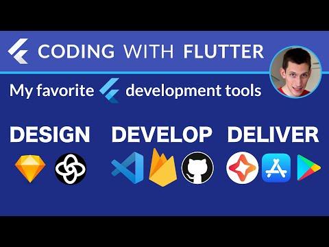 Design, Develop, Deliver: My Favorite Tools for Building Flutter Apps