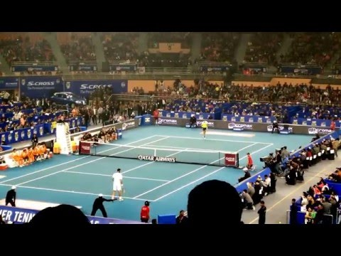Roger Federer vs Rafael Nadal International Premier Tennis League 2015
