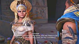 Assassin's Creed Origins DLC - All Isidora Cutscenes The Goddess THE CURSE OF THE PHARAOHS DLC