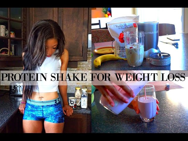 Protein for Weight Loss - THE BEST PROTEIN SHAKE FOR WEIGHT LOSS