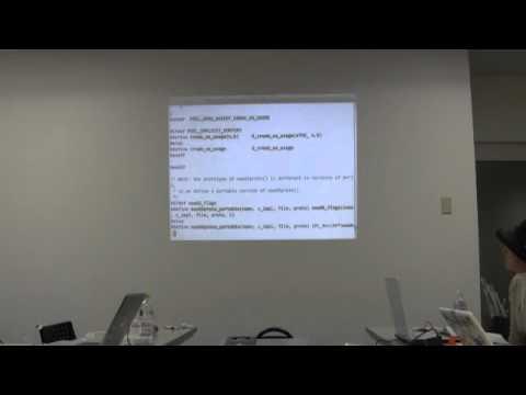 Nagoya Perl mongers #03 PerlとXC,C,C++ @niccolli