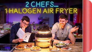 2 Chefs Test a Halogen Air Fryer