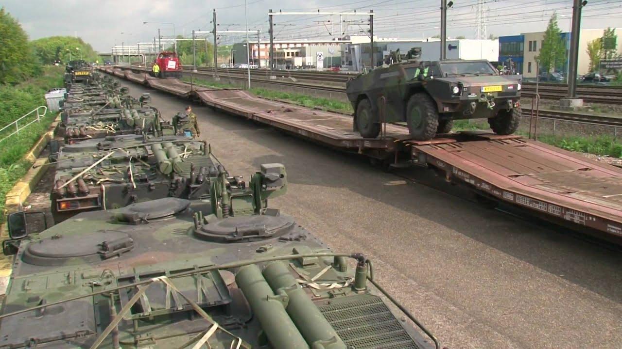 Logistieke Landmacht Oefening Dwars Door Nederland Youtube