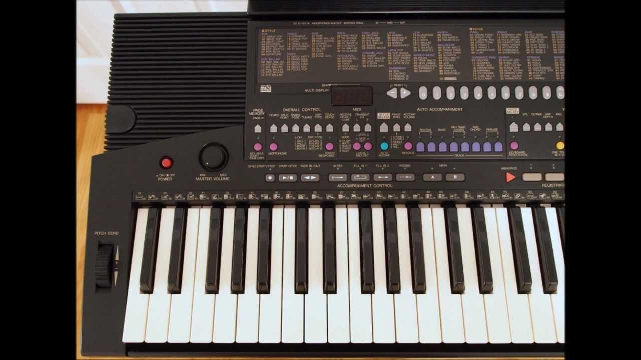 Yamaha Psr Electronic Keyboard