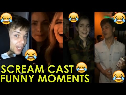 MTVs SCREAM Series  : PART 2  Willa Fitz, Carlson Young, Bex Taylor Klaus