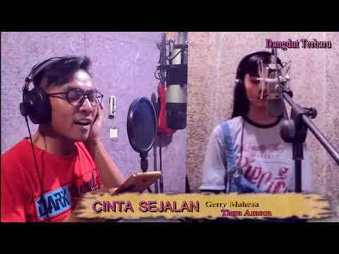 CINTA SEJALAN- Gerry mahesa & Tiara Amora -live recording