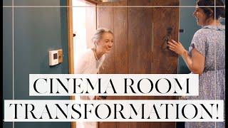 SURPRISE SNUG / CINEMA ROOM MAKEOVER! // Room Transformation // Fashion Mumblr