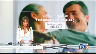 13/09/2019 - Tg5 (CANALE 5) - Comitato Testamento Solidale e Notariato -