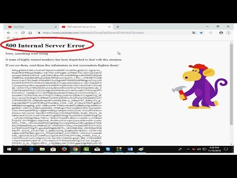 How To Fix 500 Internal Server Error Google Chrome In Windows 10, 2018
