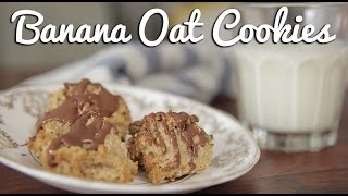 Healthy, Easy Banana Oat Cookies - Crumbs