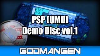 PSP Demo Disc (UMD) vol.1 (Do you remember it?)