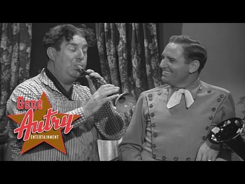 Gene Autry & Smiley Burnette - Fetch Me Down My Trusty Forty-Five (from Winning of the West 1953)