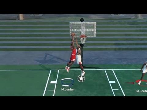 Michael Jordan Posterizes Michael Jordan!