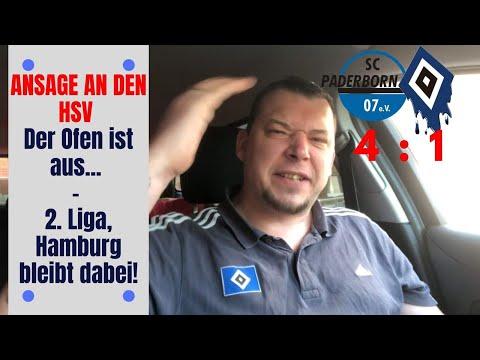 Ansage an den HSV - Der Ofen ist aus... 2. Liga, Hamburg bleibt dabei!
