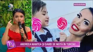 Teo Show (07.11.2018) - Andreea Mantea si David se muta in Turcia! EXCLUSIVITATE Partea 6