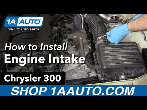 How to Replace Engine Intake 05-10 Chrysler 300