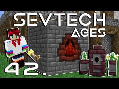 Fáklya-rakéta / Fejlett Bájitalok! - SevTech: Ages - Minecraft - 42.rész