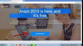 Free Antivirus 2015 (Avast free)
