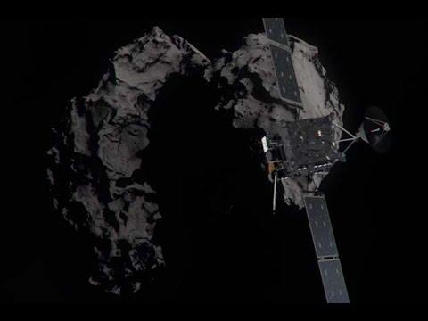 Thank You Rosetta! Probe Set To Execute Collision Maneuver | Video