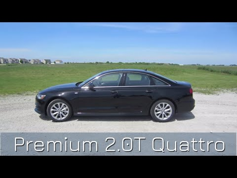 2018 Audi A6 Premium 2.0T Quattro // Detailed review and test drive