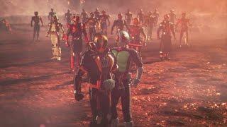 仮面ライダー ウォー 創生 超必殺技集 Kamen Rider War Sousei All Riders Specials & Transformations 1080p