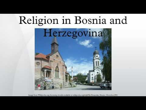 Religion Bosnien