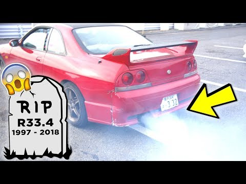 RIP SKYINE ⚰️ - Drifting At Tsukuba Gymkhana Goes Wrong 😢