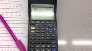 8.8 Mean and Staฑdard Deviation (with TI-83 graphing calculator)