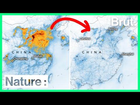 L'épidémie de coronavirus fait chuter la pollution en Chine