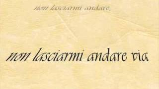 Non lasciarmi andare via - Roberto Vecchioni