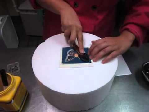 Como Utilizar Plantillas Para Decoración De Galletas Youtube