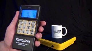 SRS1 Digital Refrigerant Scale By Fieldpiece