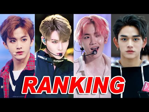 SuperM Ranking in Differents Categories (Dance, Vocal, Rap & Visual)