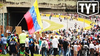 US Warns Americans To Stay Out Of Venezuela