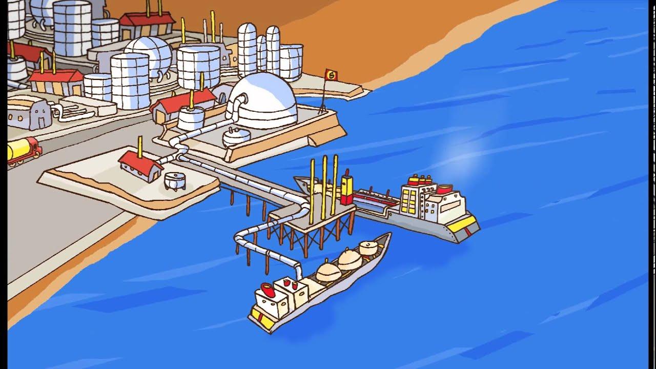 Du pétrole à l'essence